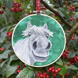 textile art Jen Keavey INto The Woods Galway, Ireland